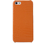 Small Crocodile Pattern Dragon Jun Series Leather Case for iPhone 5S