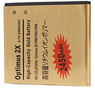 P990-GD 2450mah Cell Phone Battery for LG FL-53HN Optiums 2X P920 P990 P993 P999
