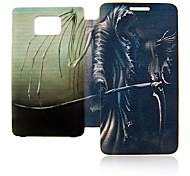 Demon Leather Case voor Samsung Galaxy S2 I9100