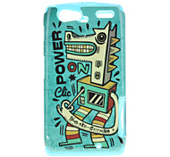 Hobbyhorse Pattern TPU Material 2-In-1 Back Case for MOTO XT910/XT912