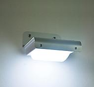 Outdoor Solar 16SMD White Light Sensor parede Ggarden Light (cis-58100)
