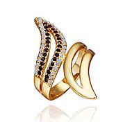 Shining Crystal Ring