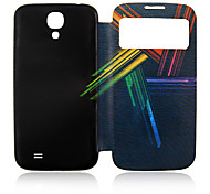 Colores Lines Plástico Lleno de Administración para su Samsung i9500 Galaxy S4