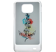 Anchor Pattern Protective Hard Back Case Cover for Samsung Galaxy S2 I9100