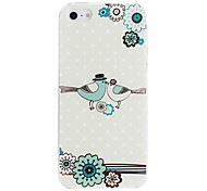 Baciare Birds pattern PC Hard Case per iPhone 5/5S