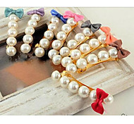 Z&X®  Bow Pearl Hairpin