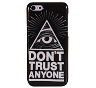 Cool One Eye Glossy Plastic Hard Case for iPhone 5C