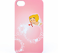 ABS Pink Cupid Back Case for iPhone 4/4S