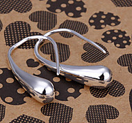 silver earring fashion jewelry Hoop Earrings4