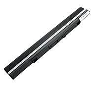2600mah замены батарей ноутбуков для Asus A42-UL30 A42-UL50 A42-UL80 UL30A UL50AG-A2-A1 UL80AG UL30A-A1 4cell - черный