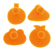Cake Decorating Tools Birds Plunger Cutter DIY (4pcs/1set)