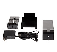 Noir Kinect Sensor Mont Stand + USB AC Power Adapter pour Microsoft Xbox 360