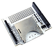Fre SD / SDHC / Micro SD / TF Card Shield Expansion Board for Arduino - White + Silver
