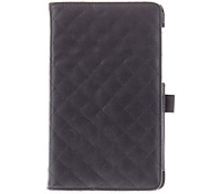 Checker 2 Folds PU Leather Case with Hand Hold for Nexus 7(the 2nd Generation)