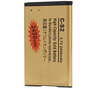 C-S2 2450mah Cell Phone Battery for BlackBerry phone 8300 8700 9300
