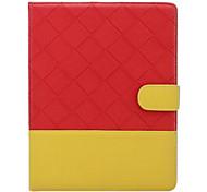 couleur mélangée pu étui en cuir pour ipad mini-3, Mini iPad 2, ipad mini-