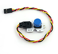 Octopus Digital Push Button Brick for (For Arduino) (Works with Official (For Arduino) Boards)