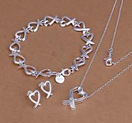 Heart-Shanped Jewelry Set