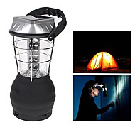 36-LED White Light LED Hand Crank Solar Lantern Camping Lamp with Charger