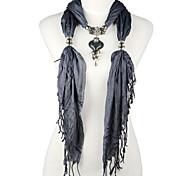 Borla Estilo mejor joyería encanta el colgante Collar de bufanda Resina 13 colores, NL-1967a, B, C, D, E, F, G, H
