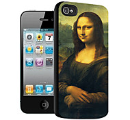 Mona Lisa Pattern 3D Effect Case for iPhone5