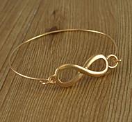 Simple bracelet en forme de 8 Thin