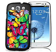 Butterfly Pattern 3D Effect Case for Samsung S3 I9300