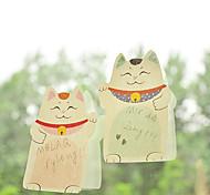 Plutus Cat Selbstklebende Notizzettel (zufällige Farbe)