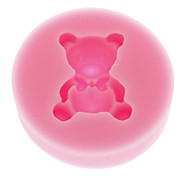 3D Bear Food Grade Fondant Silicone Mold for Candy Polymer Clay