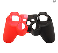 Silicone Skin Case for Sony PS3 Controller (Assorted Color)