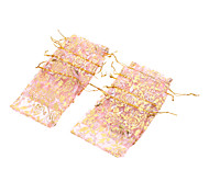 Rectangle Printing Jewellry Bags*10