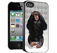 orangutanes patrón caso el efecto 3D para iphone4/4s