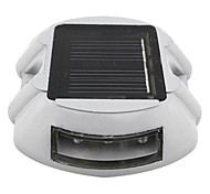 Solar Power 6 LED Outdoor Road Stud Driveway Pathway Dock Spike Light Lamp