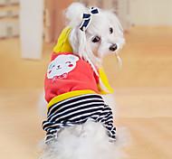 Прекрасной картины иметь четыре ноги брюки с капюшоном Собаки Животные (разные размеры)