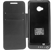 3800MAH batterie externe Full Body Case Power Pack avec le stand pour HTC One / HTC M7 (Optioanal couleurs)