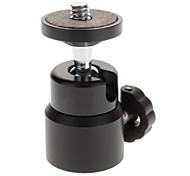 Мини Портативный флэш металла держатель для камеры - черный