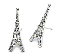 Korean Style Eiffel Tower Stud Earrings