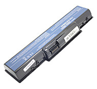 5200mah Replacement Laptop Battery for Gateway D725 D525 NV53 NV56 NV58 AS09A31 AS09A73 AS09A75 - Black