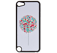 Shimmering Colorful Balloon Tree Pattern Hard Case for iPod touch 5