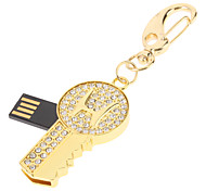 Gold Key recurso USB Flash Drive 32GB