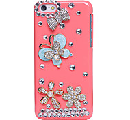 Butterfly Dance Jewel Covered Cases for iPhone 5C
