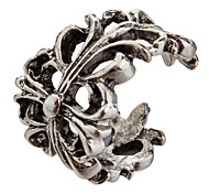(1pc) Fashion Unisex Silver Alloy Opened Ring