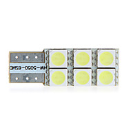T10 W5W 194 168 6 5050 SMD LED Blanc Side Car Wedge ampoule de lampe