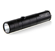 LED Flashlights/Torch / Handheld Flashlights/Torch LED 1 Mode 240 Lumens Cree XR-E Q5 18650Camping/Hiking/Caving / Everyday Use / Cycling