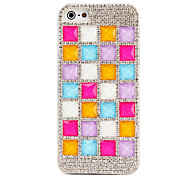 Shinning Diamond Jelly Design PC Case for iPhone5/5s (Assorted Colors)