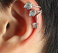 European (Leaf) Silver Alloy Ear Cuffs(Silver,Coppery)