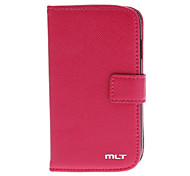 High Quality PU leather Flip Pouches for Samsung Galaxy S3 Mini I8190