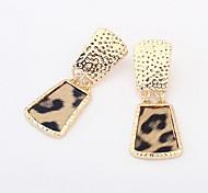 Moda Liga leopardo brincos (mais cores)