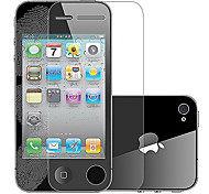 Benks Magic Frosted Anti-fingerprint Series  Screen Protector with Microfiber Cloth for iPhone 4/4S
