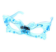Kid's Butterfly Shaped Glasses Toy with LED (Random Color)